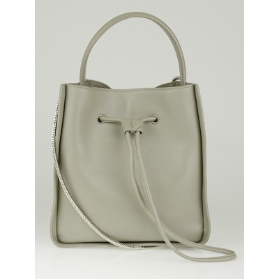 3.1 Philip Lim Cement Leather Soleil Small Bucket Bag