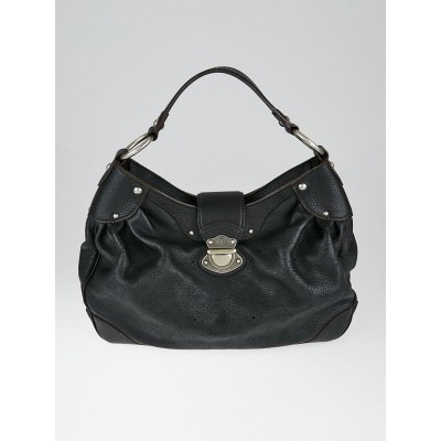 Louis Vuitton Black Mahina Leather Solar PM Bag