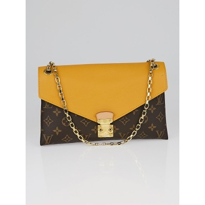 Louis Vuitton Safran Monogram Canvas Pallas Chain Bag