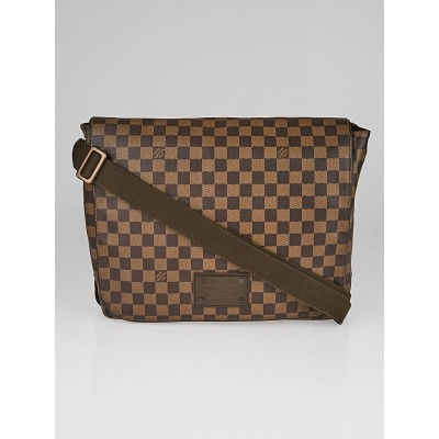 Louis Vuitton Damier Canvas Brooklyn GM Messenger Bag