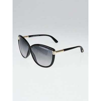 Tom Ford Black Acetate Frame Abbey Sunglasses - TF327