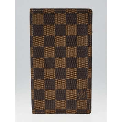 Louis Vuitton Damier Canvas Checkbook Wallet