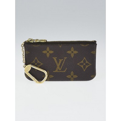 Louis Vuitton Monogram Canvas Pochette Clefs Key and Change Holder