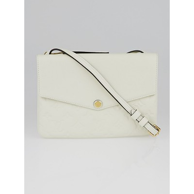 Louis Vuitton Neige Monogram Empreinte Leather Twice Bag