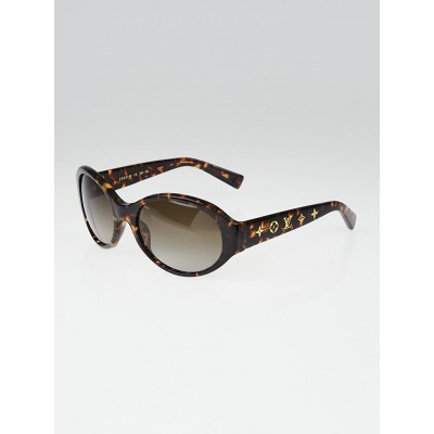 Louis Vuitton Tortoise Shell Acetate Frame Obsession Sunglasses-Z0031W