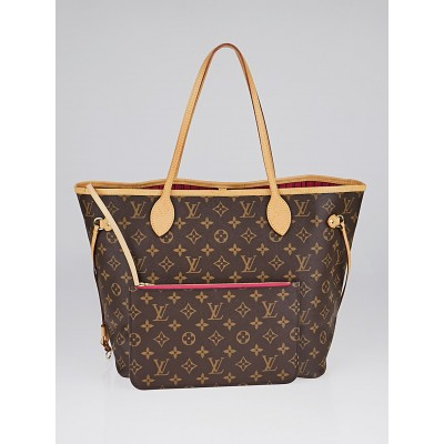 Louis Vuitton Monogram Canvas Neverfull NM MM Bag