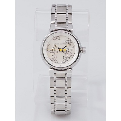 Louis Vuitton 28mm Lovely Perle Mother-of-Pearl Tambour Quartz Watch