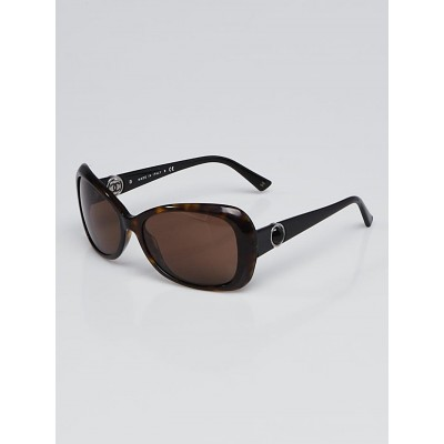Chanel Black Acetate Frame Button Collection Sunglasses-5148