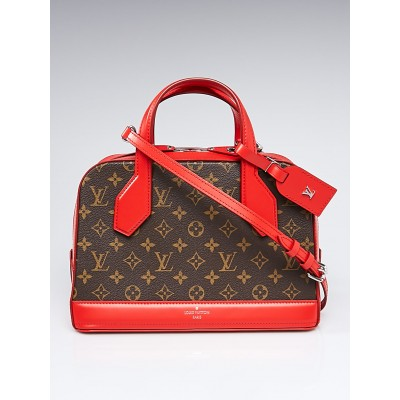 Louis Vuitton Coquelicot Monogram Canvas Dora PM Bag