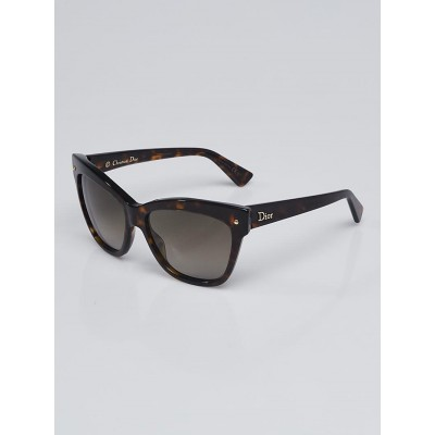 Christian Dior Tortoise Shell Acetate Jupon 2 Sunglasses