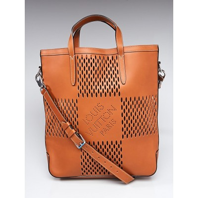 Louis Vuitton Cognac Damier Leather Nomade North West Cabas Bag