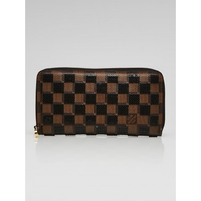 Louis Vuitton Limited Edition Black Damier Paillettes Zippy Wallet