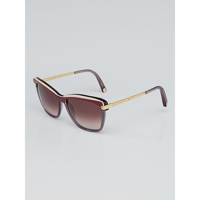 Louis Vuitton Prune Acetate Frame Ambrosia Sunglasses Z0600W