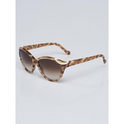 Louis Vuitton Honey Tortoise Shell Acetate Frame Ivy Sunglasses - Z0747W