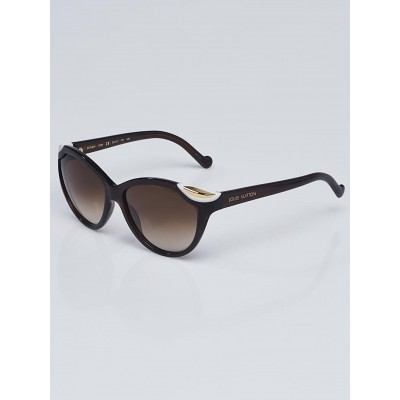Louis Vuitton Brown Glitter Acetate Frame Ivy Sunglasses - Z0748W