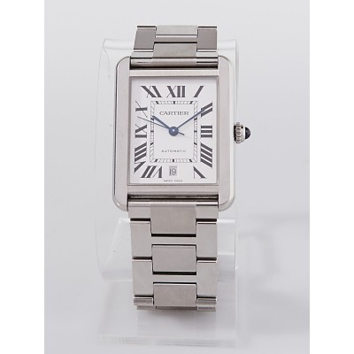 Cartier Stainless Steel Tank  Solo XL Automatic Watch W5200028