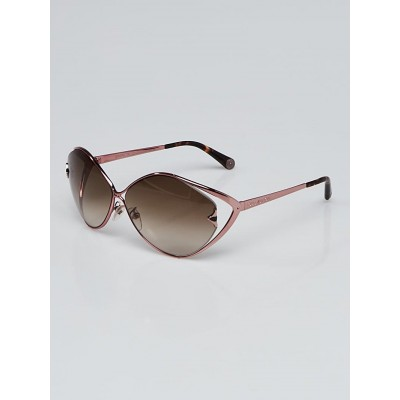 Louis Vuitton Pink Metal Laurel Sunglasses Z0539U