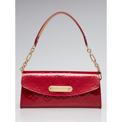 Louis Vuitton Pomme D'amour Monogram Vernis Sunset Boulevard Bag