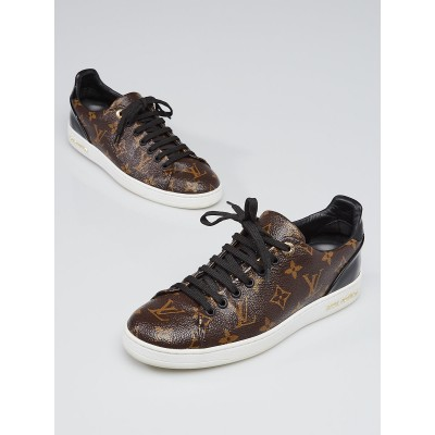 Louis Vuitton Monogram Coated Canvas Frontrow Sneakers Size 7.5/38