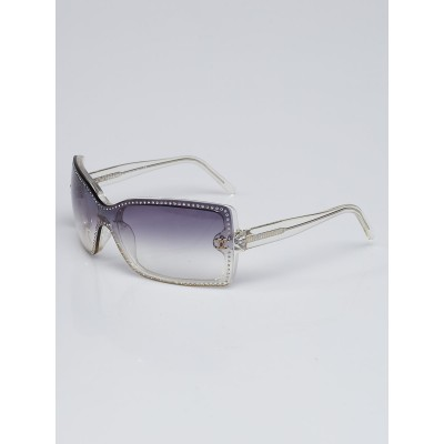 Chanel Clear Resin Studded Gradient Tint Sunglasses-5065-B