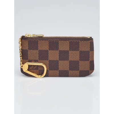 Louis Vuitton Damier Canvas Pochette Cles Key and Change Holder
