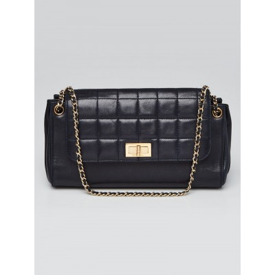 Chanel Square Quilted Lambskin Leather Mademoiselle East/West Shoulder Bag