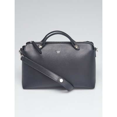 Fendi Black Calfskin Leather Large By the Way Bag 8BL125