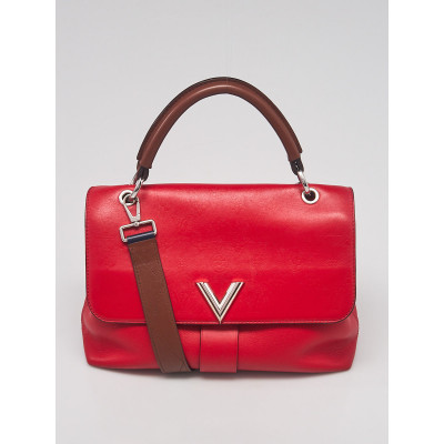 Louis Vuitton Red Monogram Leather Very One Handle Bag