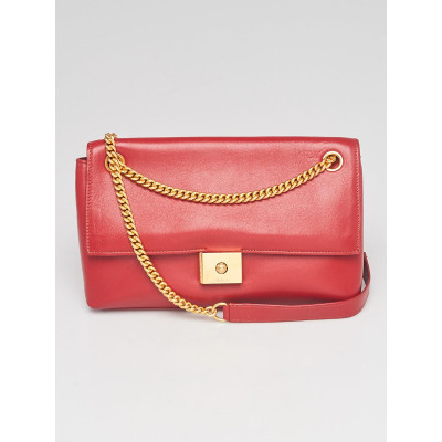 Mulberry Red Leather Cheyne Flap Bag