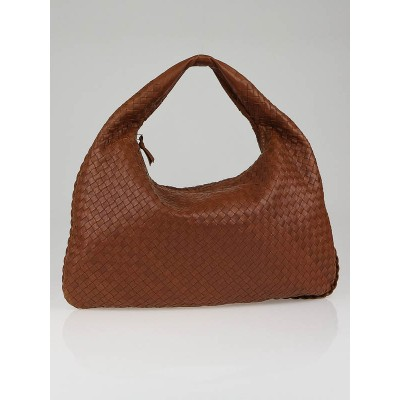 Bottega Veneta Carmel Large Veneta Woven Hobo Bag