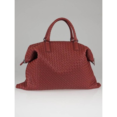 Bottega Veneta Appia Intrecciato Nappa Leather Convertible Tote Bag