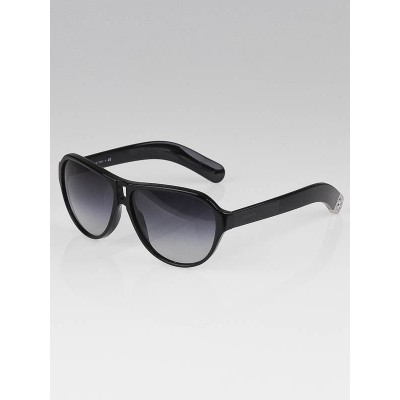 Chanel Black Frame Havana CC Logo Sunglasses-5233