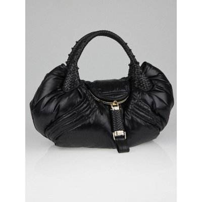 Fendi Limited Edition Black Nylon Moncler Spy Bag