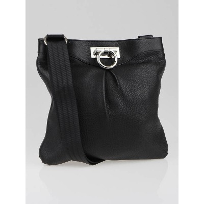 Salvatore Ferragamo Black Graziella Crossbody Bag