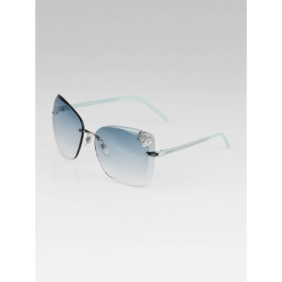 Gucci Blue Gradient Tint Lens Butterfly Sunglasses - 4217/S
