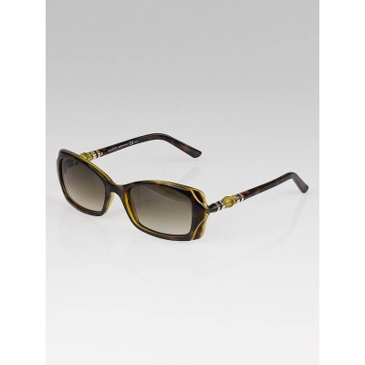Gucci Brown Frame Bamboo Sunglasses- 3194/S