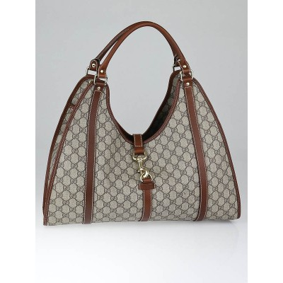 Gucci Beige/Brown GG Coated Canvas Joy Shoulder Bag