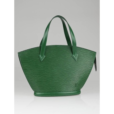 Louis Vuitton Borneo Green Epi Leather St Jacques PM Bag