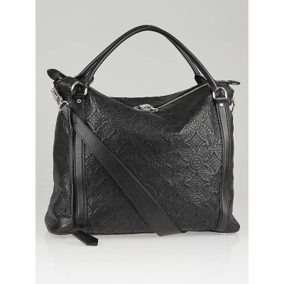 Louis Vuitton Black Monogram Antheia Lambskin Ixia PM Bag