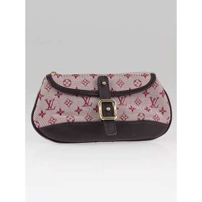 Louis Vuitton Cherry Red Monogram Mini Lin Anne Sophie Pochette Bag