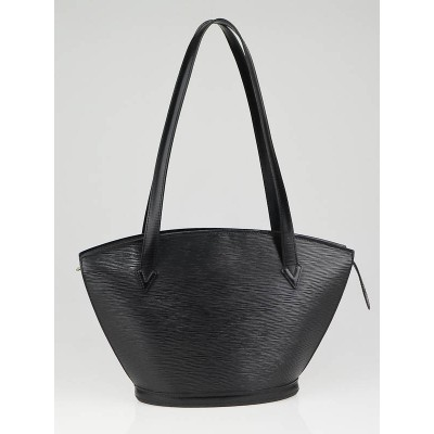 Louis Vuitton Black Epi Leather Saint Jacques Bag