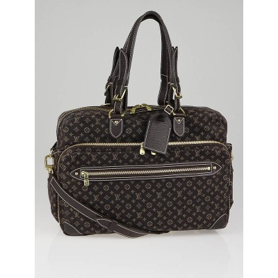 Louis Vuitton Brown Mini Lin Canvas Diaper Bag