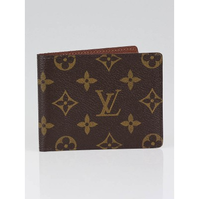 Louis Vuitton Monogram Canvas Billfold with 9 Credit Card Slots Wallet