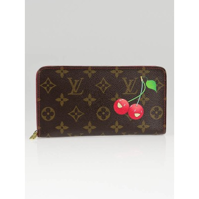 Louis Vuitton Limited Edition Cerises Zippy Long Wallet