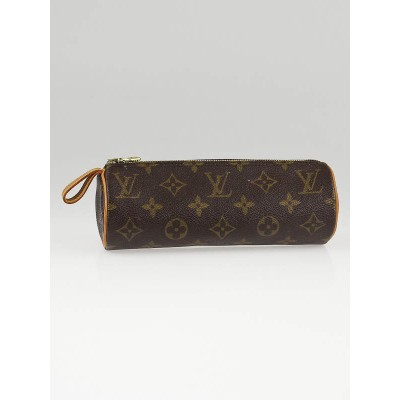 Louis Vuitton Monogram Canvas Zipped Pencil Case