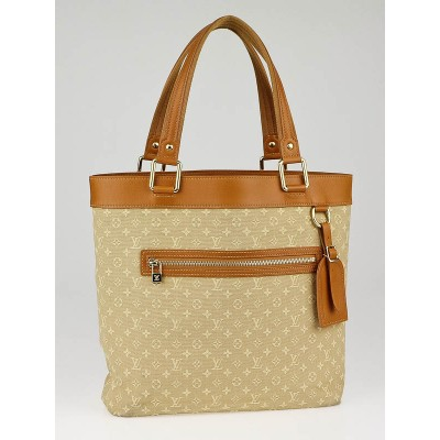 Louis Vuitton Beige Monogram Mini Lin Lucille GM TST Bag