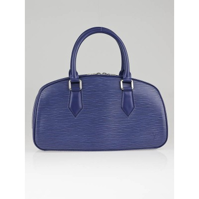 Louis Vuitton Myrtille Blue Epi Leather Jasmine Bag