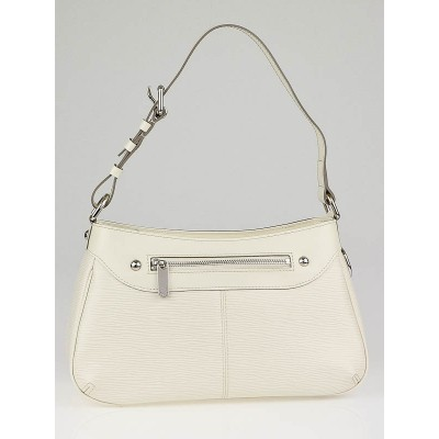 Louis Vuitton White Epi Leather Turenne PM Bag
