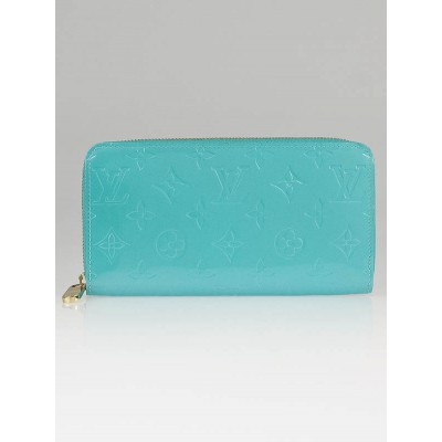 Louis Vuitton Lagon Monogram Vernis Zippy Wallet