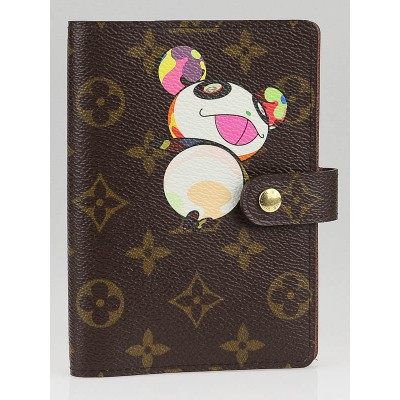 Louis Vuitton Limited Edition Monogram Canvas Murakami Small Ring Agenda